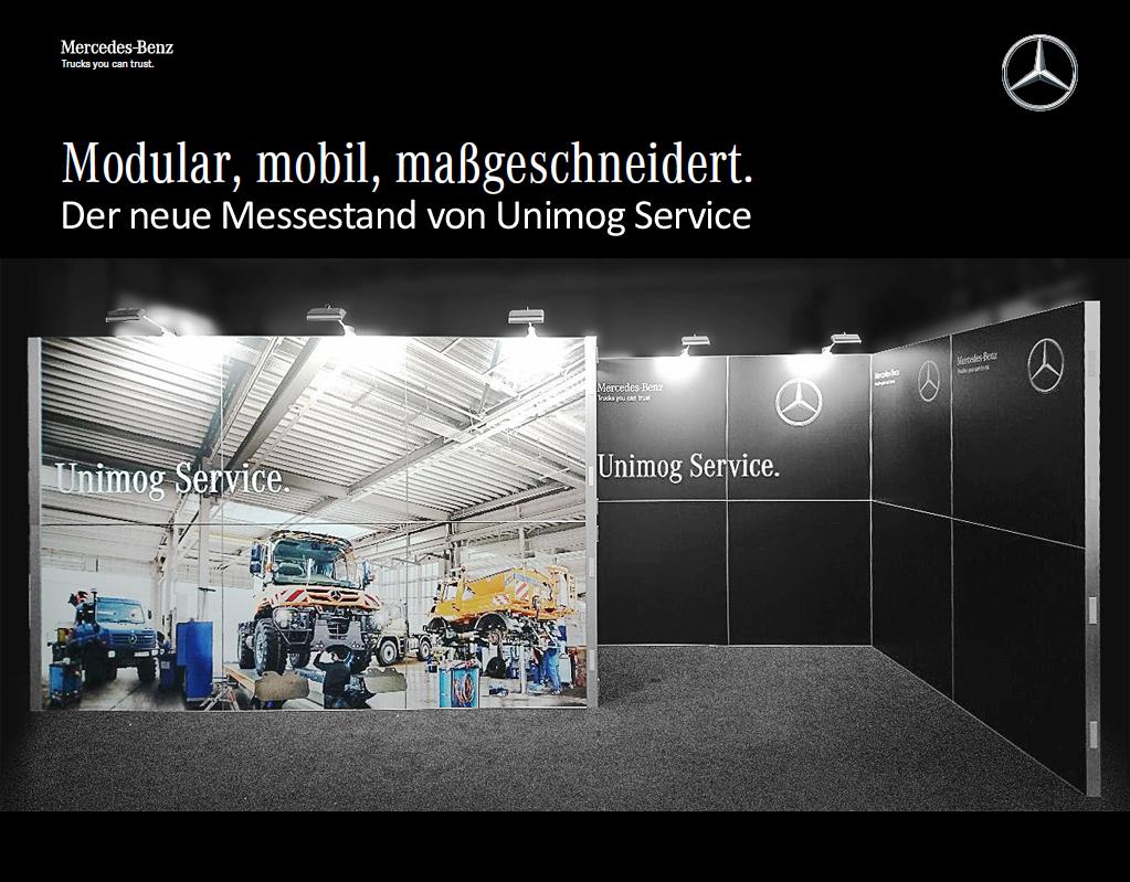 Mercedes-Benz setzt auf das ausgezeichnete Messesystem von proFAIRssional.